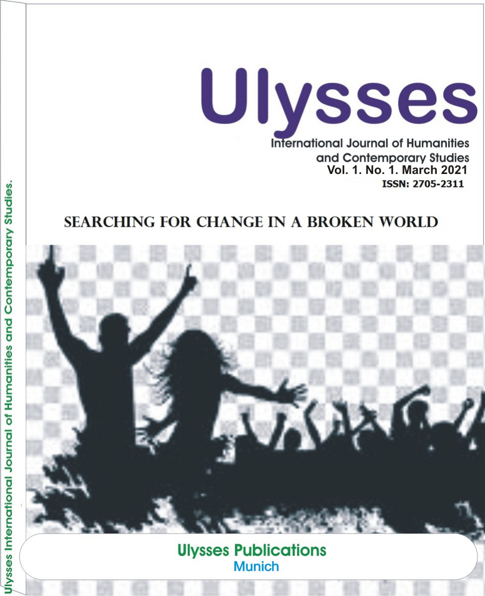View Vol. 1 No. 1 (2021): Searching for Change in a Broken World
